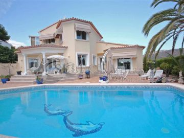 The villas in El Portet-Moraira, ideal for enjoying the summer