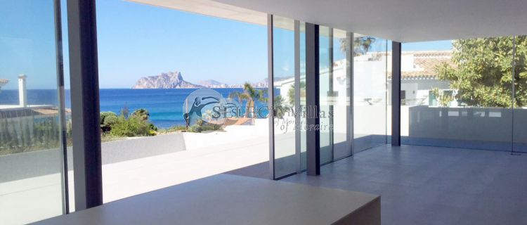 In the year 2018 the property in Moraira Spain was significantly revalued