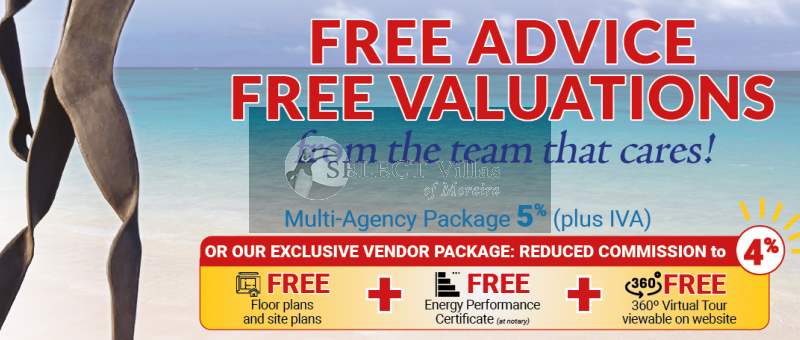 Thinking of selling a property in Costa Blanca? Then this exclusive vendor package might interest you