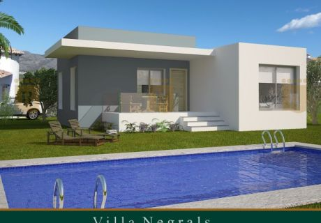 Villa - New Build - Orba - Orba