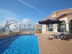 villa with views and private pool for sale in Benitachell