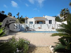 Modern and attractive villa for sale in Benissa Costa