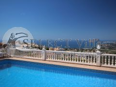 Villa with sea views in Benitachell – Costa Blanca